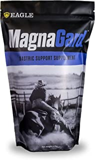 MagnaGard Gastric Support Supplement for Horses with Ulcers or Digestive Issues, 4 lbs