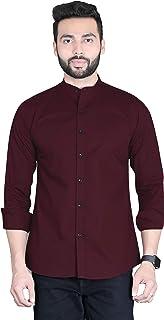 Men's Slim Fit Casual Shirts