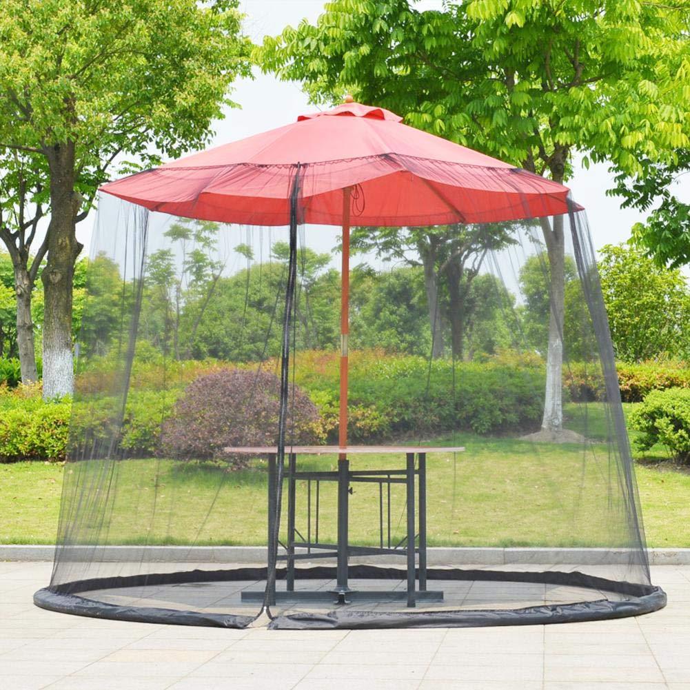 Mosquitera Plegable con diseño Resistente a Insectos, protección Solar, mosquitera para jardín, mosquitera para cenador para Viajes, Exteriores, Negro, 300 x 230 cm: Amazon.es: Hogar