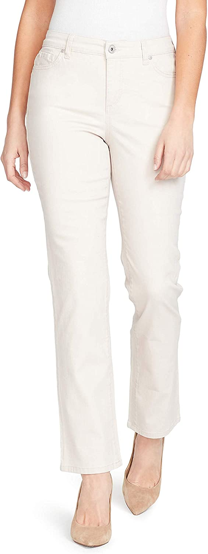 Gloria Vanderbilt Women's Mandie Signature Fit High Rise Straight Leg Jean