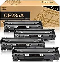 CMYBabee Compatible Toner Cartridges Replacement for HP 85A CE285A for HP Laserjet Pro P1102w P1109w M1212nf M1217nfw MFP Printer(Black, 4-Pack)