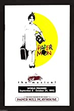 "Christine Ebersole ""PAPER MOON"" John Dossett 1993 World Premiere Playbill"