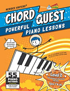 Chord Quest Powerful Piano Lessons Level 2: Easy Keyboard Pa