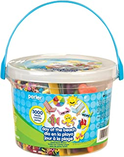 Best Perler Beads Day at The Beach Fuse Bead Bucket Craft Activity Kit, 5006 pcs Review