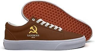 Bernie Sanders Socialist16 Classic Canvas Shoes Women White