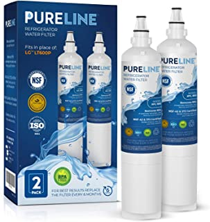 LG LT600P & Kenmore 9990 Certified WAter Filter Replacement. Compatible Models: LG LT600P, LG 5231A2006A, Kenmore 9990, LG CLS30320001. Other Compatible LG Models Listed Below. -PURELINE (3 Pack)