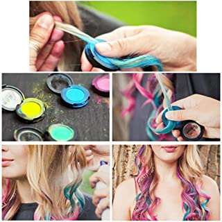 1 piece Hot Selling Popular Hair Color Temporary Hair Dye Chalk Compact Candy Color Pressed Powder
