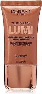 L'Oréal Paris True Match Liquid Glow Illuminator, Golden, 0.67 fl. oz.