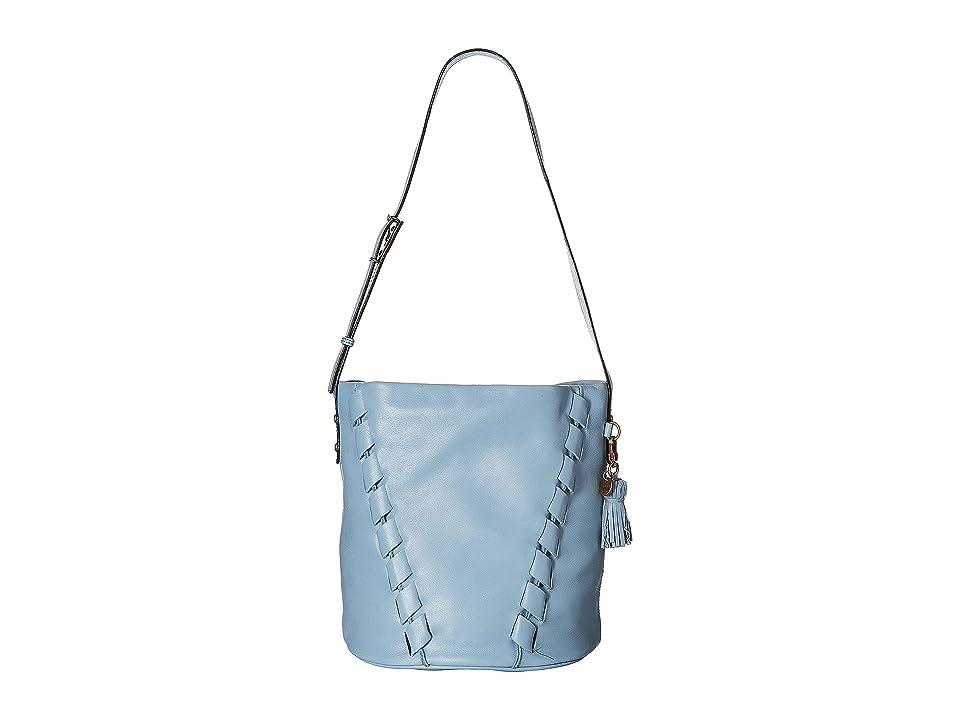 The Sak Barolo Bucket Hobo By The Sak Collective (Arctic Blue Kuta) Hobo Handbags
