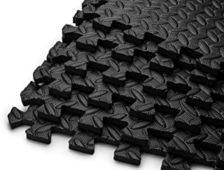 HemingWeigh Puzzle Exercise Mat EVA Foam Interlocking Tiles - Available in Sizes from 120 Square Feet- 144 Square Feet