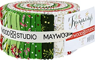 All The Trimmings 40 2.5-inch Strips Jelly Roll Maywood Studio