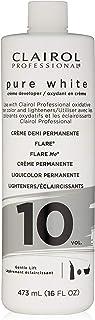 Clairol ピュアホワイト10ボリュームクリームデベロッパー 16オンス