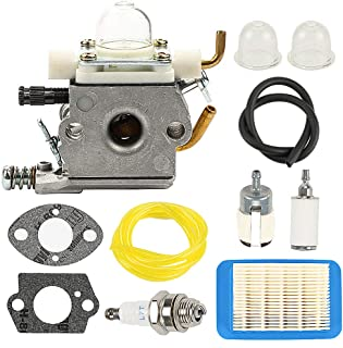 Allong C1M-K77 Carburetor with Air Filter Tune Up Kit for Echo PB-400 PB-403H PB-403T PB-413 PB-413H PB-413T PB-610 PB-620 PB-620H Leaf Blower