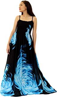 bd8a5bb67d0 MayriDress Maxi Dress Plus Size Clothing Black Ball Gala Party Sundress  Evening Long Floral Women