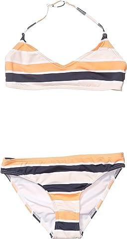 Cadmium Orange Pong Stripes