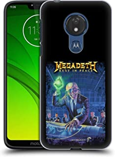 Official Megadeth Rust in Peace Album Cover Key Art Hard Back Case Compatible for Motorola Moto G7 Power