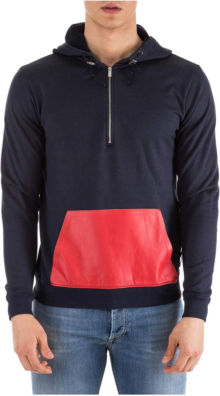 Fendi Men's Hoodie Sweatshirt Sweat bluee