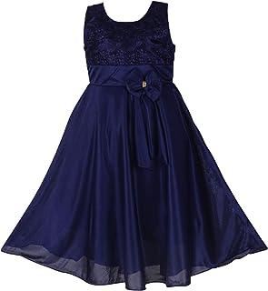 Princeandprincess Girl's Column Midi Dress