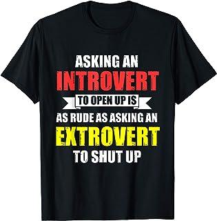 外向性 内向性 性格 内向的 外向性 Tシャツ