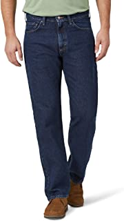 Wrangler Men's Big & Tall Classic 5-Pocket Relaxed Fit Cotton Jean
