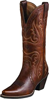 Women's Heritage Western X Toe Boot