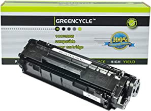 GREENCYCLE Compatible Q2612X 12X Toner Cartridge Replacement for HP LaserJet 1010 1012 1015 1018 1020 1022 3015 3020 3030 3050 3050Z M1005MFP M1319MFP Printer ( Black,1 Pack )