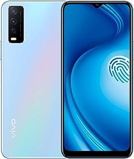 موبايل فيفو Y12s بشريحتي اتصال، 6.51 بوصة، رام 3 جيجابايت، 32 جيجابايت، 4G LTE - لون ازرق