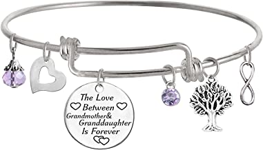 Best TISDA The Love between Grandmother and Granddaughter is Forever Bracelet Reviews