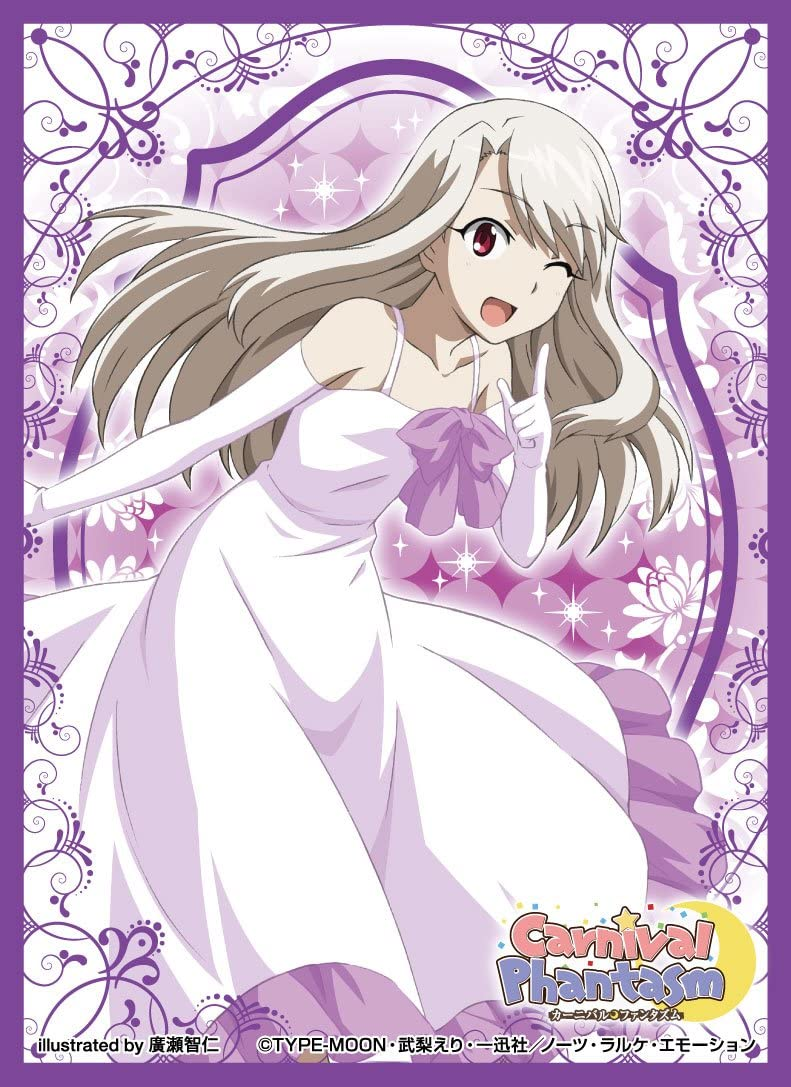 Illyasviel Carnival Phantasm Card Sleeves Now Over item handling free shipping Character Collect Game