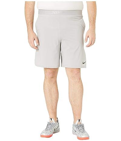 Nike Big Tall Flex Training Shorts (Atmosphere Grey/Black) Men