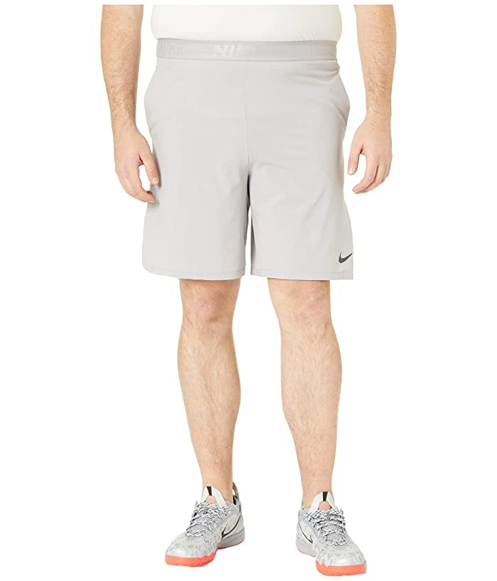 Nike Big Tall Flex Training Shorts (Atmosphere Grey/Black) Men