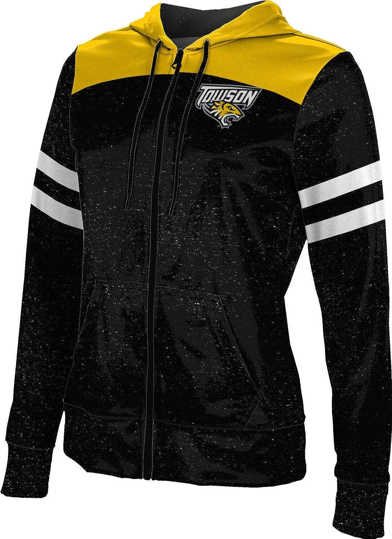 ProSphere Towson University Girls' Zipper Hoodie, School Spirit Sweatshirt (Gameday)