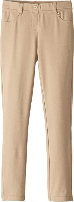 Stretch Interlock Leggings (Big Kids)