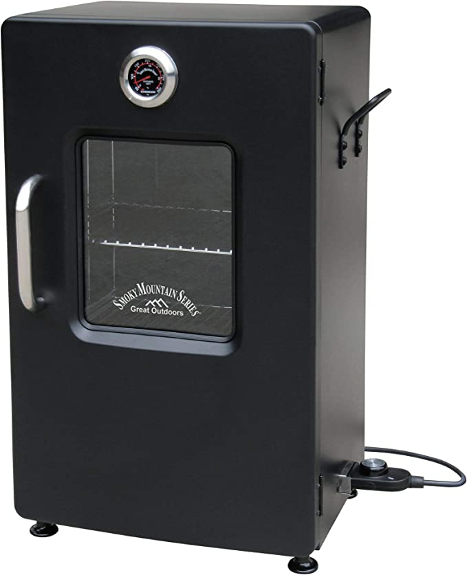 LANDMANN MCO 32954 Smoky Mountain – The Smoker with a 3-In-1 Combination Tray