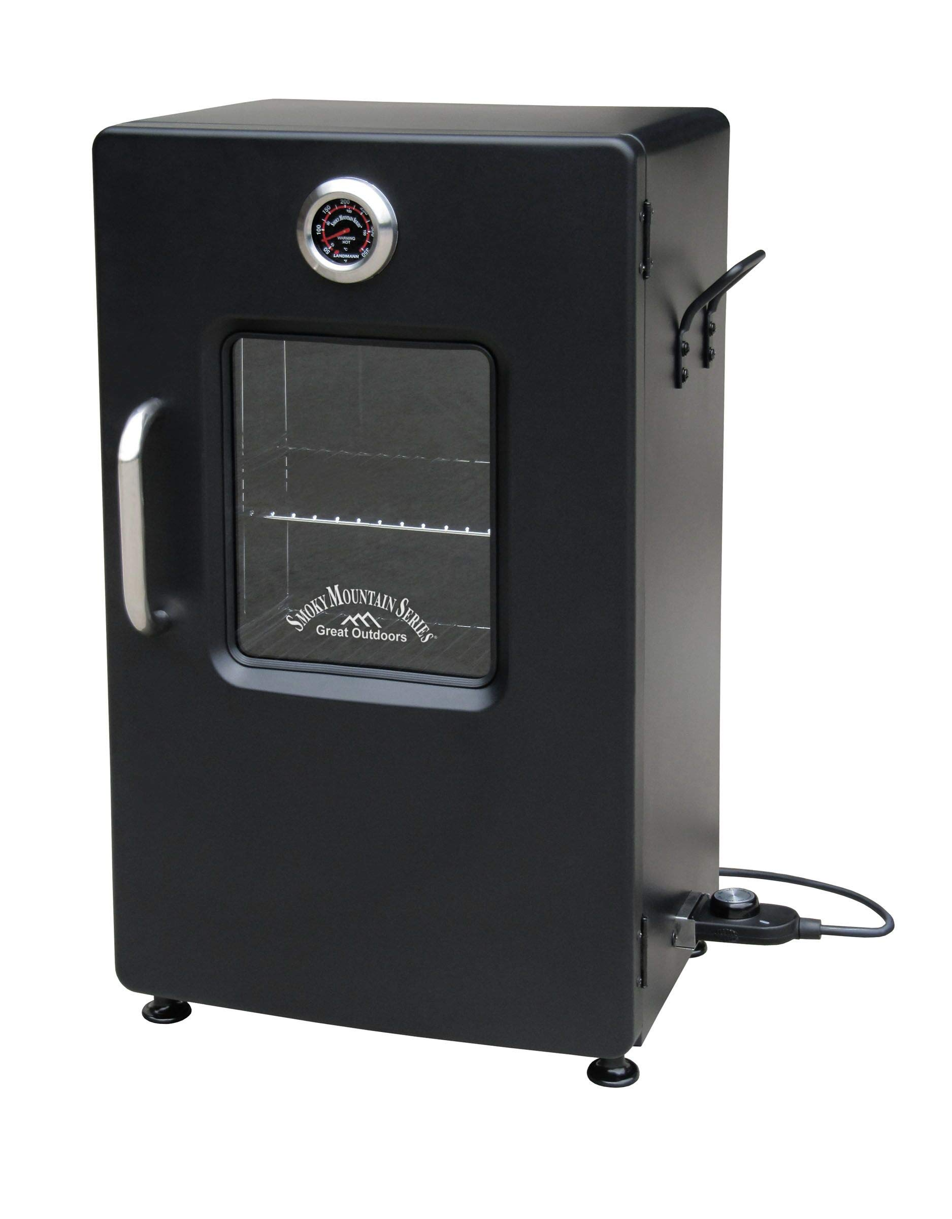 Landmann Mountain Electric Smoker Viewing