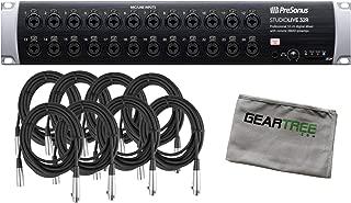 Presonus StudioLive 32R 46x26 32-channel Series III Stage Box Bundle w/ 8 Cables
