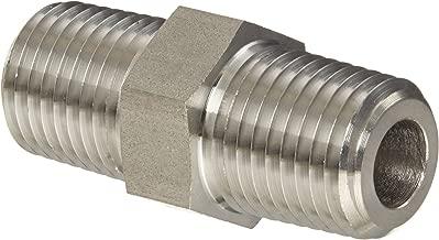 Eaton Weatherhead 3081X4 Stainless Steel 316 Fitting, Hex Nipple, 1/4