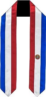 Paraguay Flag Graduation Sash/Stole International Study Abroad Adult Unisex