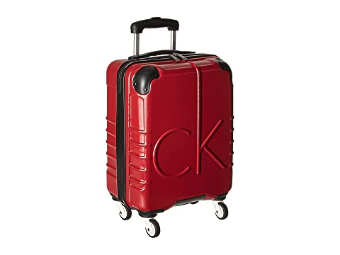 "Ck-526 Islander 19"" Upright Suitcase, Burgundy"
