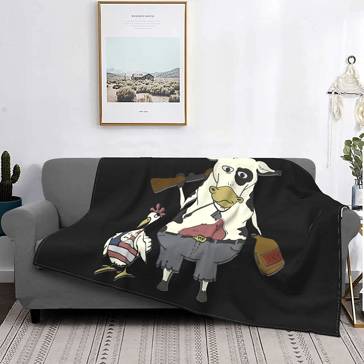Luxurious Four It is very popular Seasons Max 46% OFF Warm Cow Do Chicken Merica and Bedding