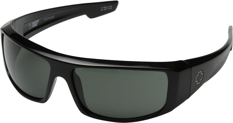 Spy Logan Sunglasses - Spy Optic Steady Series Fashion Eyewear - Color: Black/Grey, Size: One Size Fits All