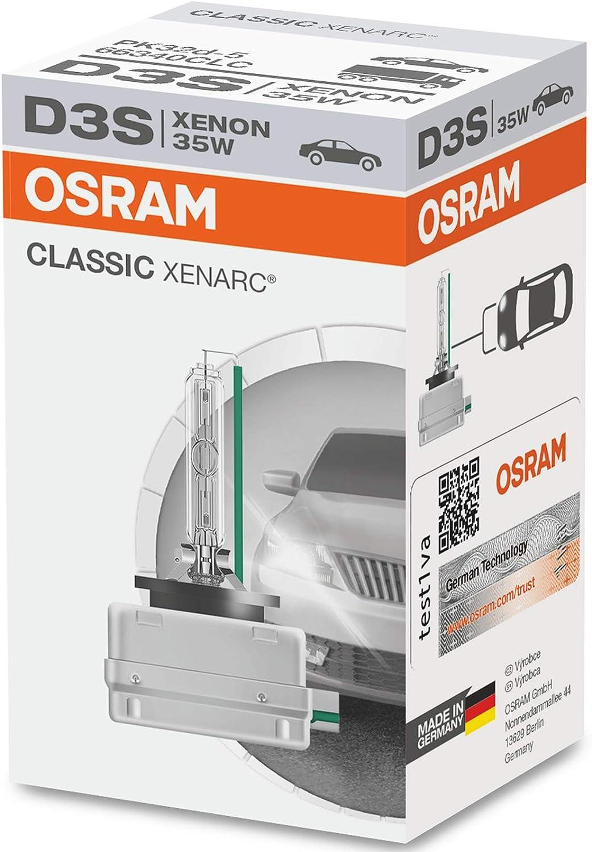 OSRAM OS66340CLC D3S Xenon 35W XENARC Classic