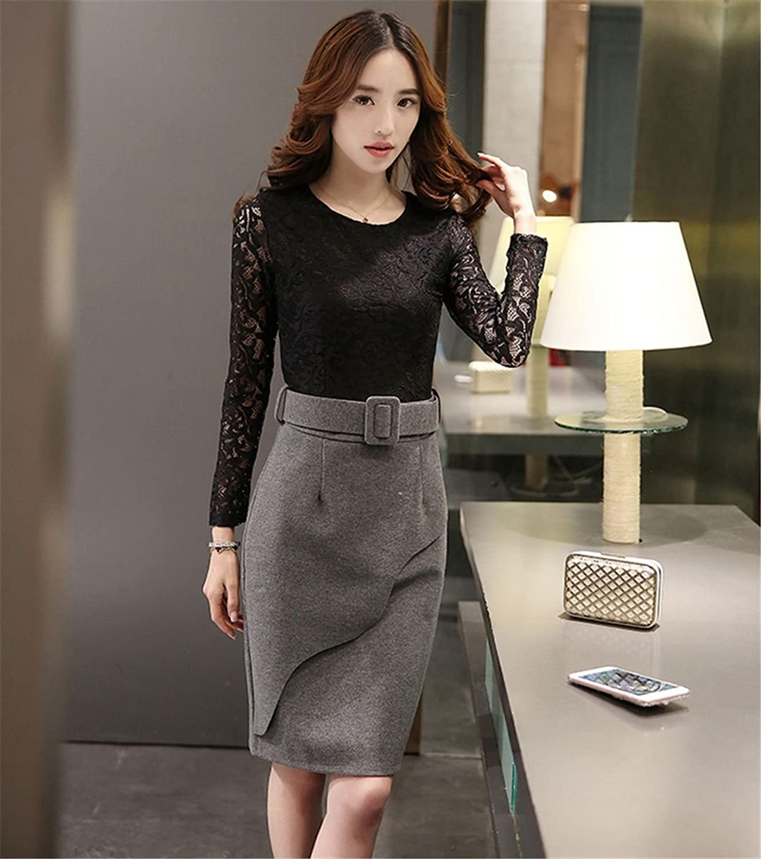 2019 Japanese Street Style Sexy neues Spitzenkleid (black)