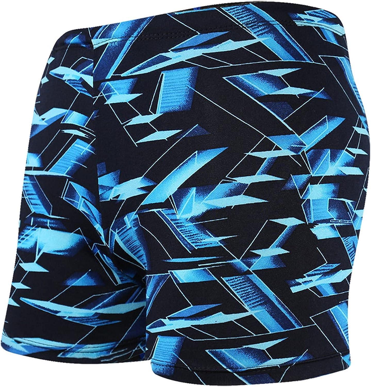 Huangse Men's Running Shorts Lightweight Quick Dry Athletic Workout Shorts Plus Size 3D Fun Digital Shark Print Beach Shorts