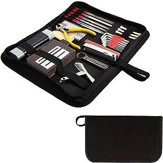 Flushbay 37 PCS Guitar Setup Tool Kit Guitar Repair Care Cleaning Set Maintenance Kit for Guitar Ukulele Bass Mandolin Ban...