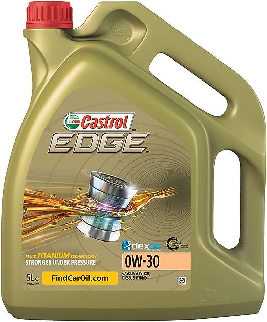 Castrol Edge Engine Oil 0w 30 5l German Label Auto