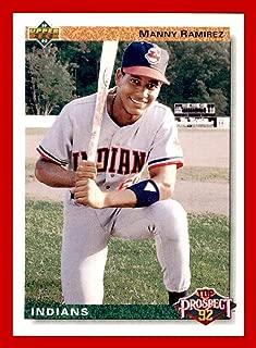 1992 Upper Deck #63 Manny Ramirez CLEVELAND INDIANS RC Rookie