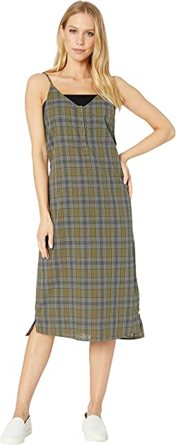 Tank Plaid Maxi Dress