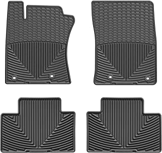 WeatherTech (WTCB307136 Floor Mat, Rubber, Front/Rear, Black