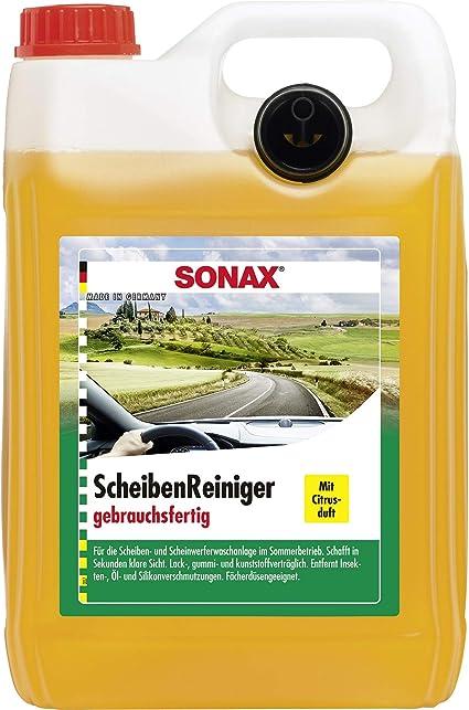 SONAX 02605000 - Producto limpiacristales (Aroma a limón): Amazon.es: Coche y moto